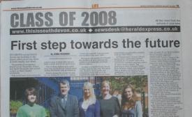 class of 2008 hearld express